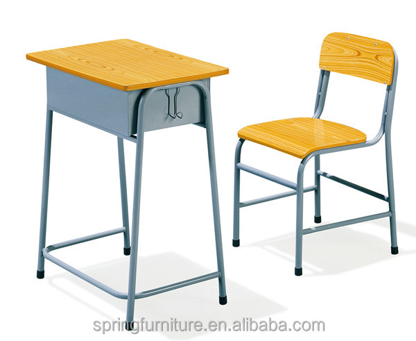 factory classroom furniture/China mainland school chair/Foshan school desk