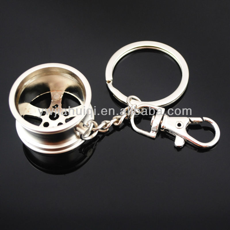 2015 New Design Wheel Shape Keychain For Wholesale