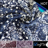 Rachel Lace Printed Fabric for Women Dress