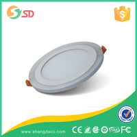 SHANGDA SMD2835 3014 120 degree Cool white ceiling led lamp round recessed 2 inch led panel light 3w