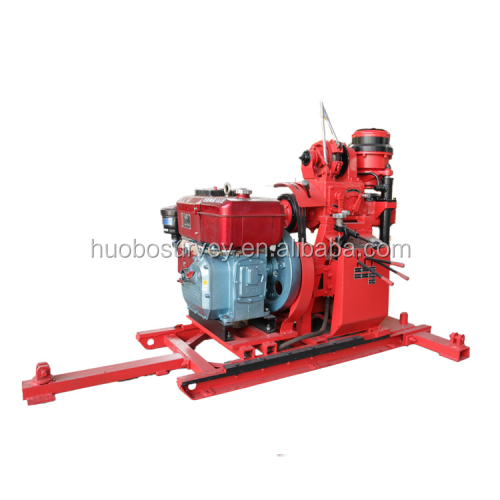 80m Deep Portable Small Water Well Bore Hole Well Drilling Machine