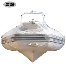 RIB 520 C Rigid Hull Inflatable Boat with Roll bar and Console for Fishing and Rescue and Military