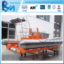 Types of High Speed Firefighting Used Rescue Boat For Sale