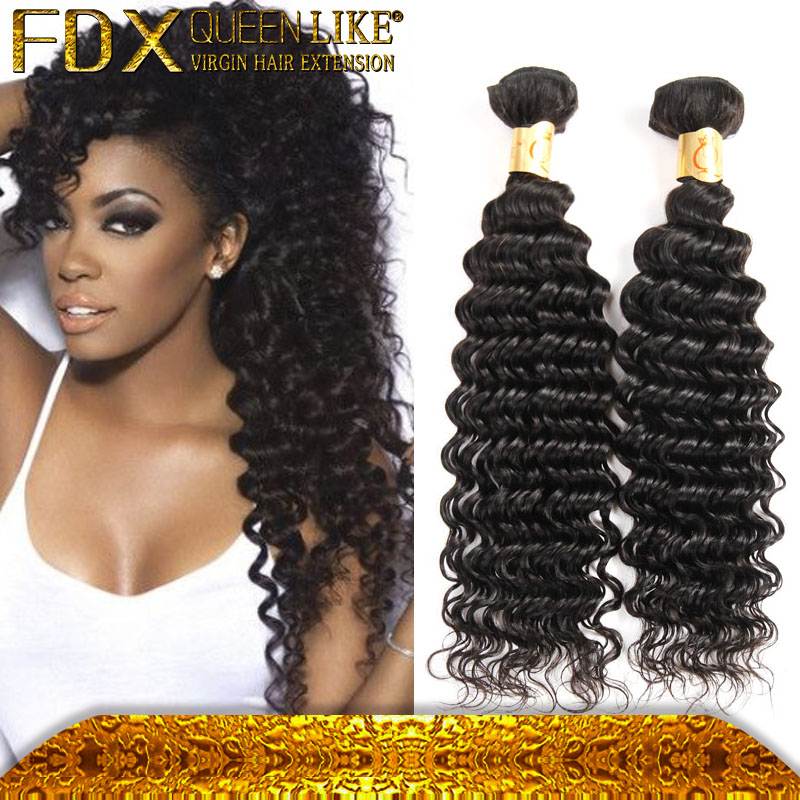 All Length Cheapest Virgin Deep Wave natural hair styles Weave Human Hair Bundles