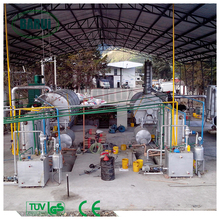 pyrolysis tyre recycling plant with ISO