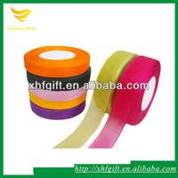 Colorful Organza Ribbon for Gift Decorative