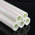 DIN standard rainfall white colour ppr pipe for hot water