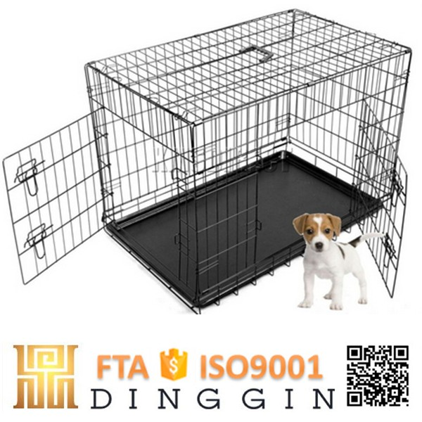 large wire mesh dog cage for sale