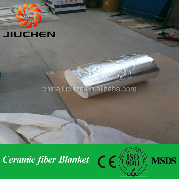 Excellent heat insulation high pile ceramic fiber blanket