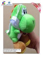 Cute Super Mario Bros Figure Soft Doll Plush Stuffed Toys Sitting 7in New