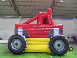 Custom Made Inflatable Truck Bounce House, Commercial Jumping Castle