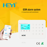 alarm siren panic button gsm home kit burglar bicycle security camera touch screen digital intelligent wireless alarm