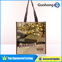 Factory direct sale eco laminated pp woven shopping bag