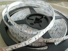 DC12V 5m(one roll) 5050 SMD 60LEDs/m led strip,waterproof by silicon coating,IP65