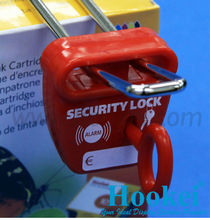 POM Material Red Anti-theft Display Hook Lock