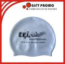 Promotional Silicone Flexible Swimming Cap