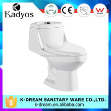 Ceramic sanitary wares cheap one piece bathroom toilet KD-T030P