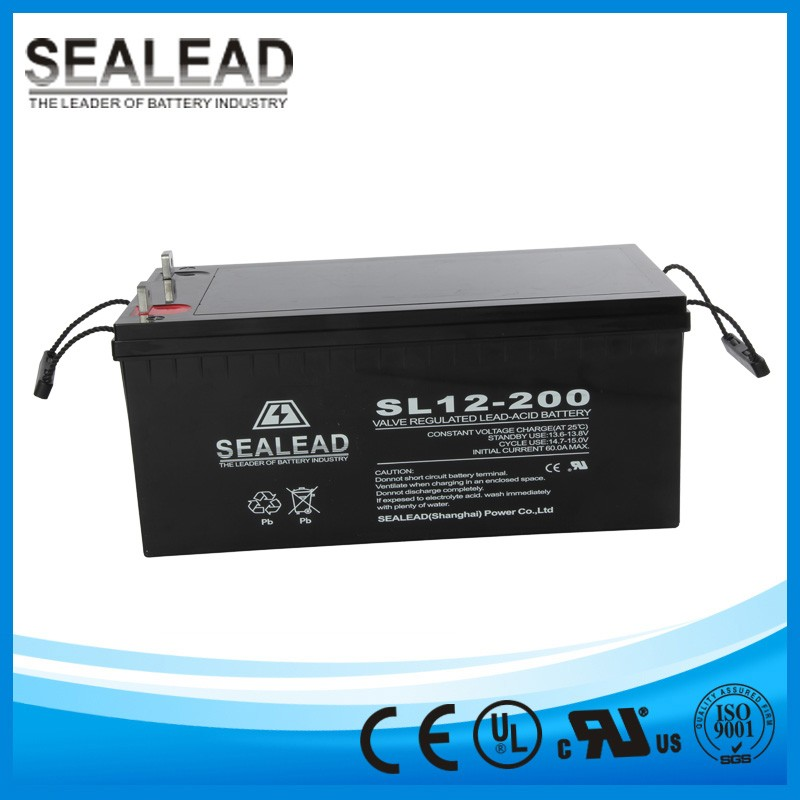 12v 200ah deep cycle lithium ion solar battery for ups alarm system