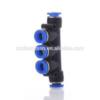 factory direct sale PK pneumatic connector for PU air pipe