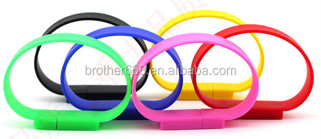 fashion USB bracelets 2014/personalized 8GB USB bracelets/waterproof usb silicone bracelet