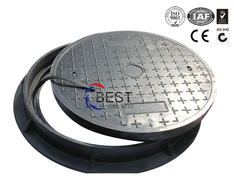 Manhole Covers and Frames Plastic manhole cover double seal