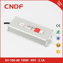 170-264vac Custom order 48v 2.1a power supply 100w waterproof led driver power 48v