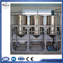 factory price on sunflower seeds colza oil refinery machine/sesame and castor refinery machinery