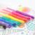 Free sample multi color gel pen set  with 8 PP case