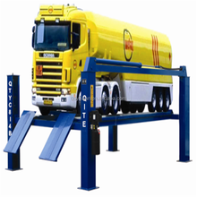 8ton portable tilting hydraulic mini trailer car lift