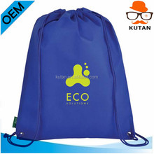 non-woven drawstring backpack bag/drawstring totebag