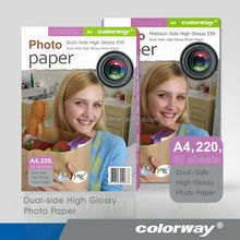 double side matte coated color inkjet photo paper A4 size 140g
