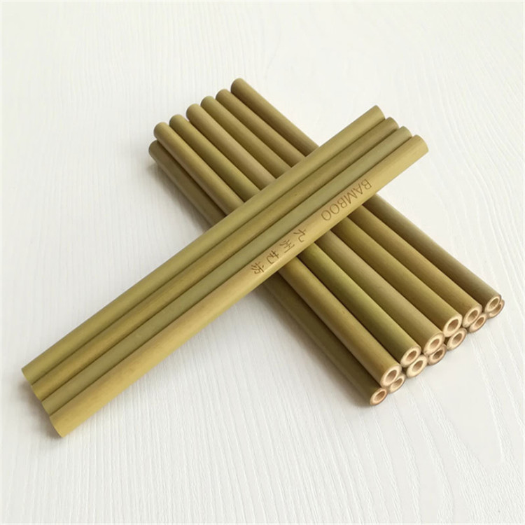 natural organic bamboo drinking straws drinking with your logo