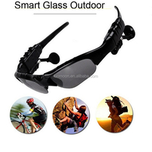 Mobile phone accessories bluetooth sport sunglasses with mp3 player for mobile phones
