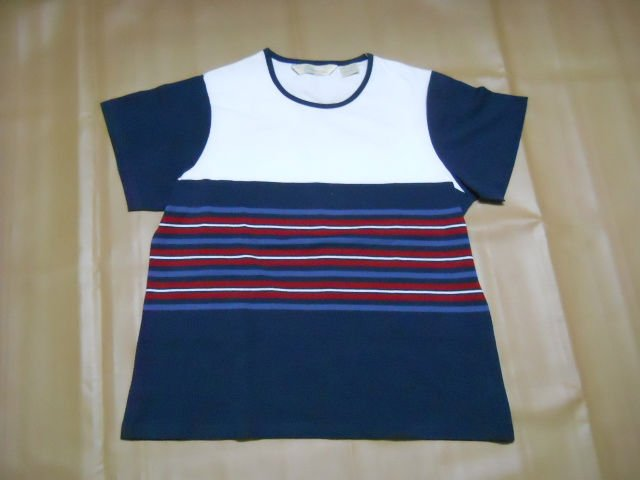 Ladies S/SL Basic R-Neck Yarn died T-Shirt