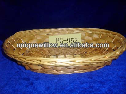 Willow bread tray Willow serving tray Willow gift tray FG-952