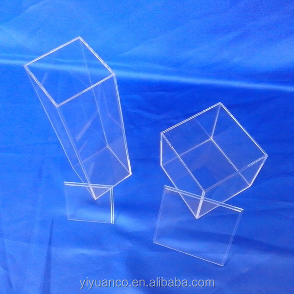 Retailers General Merchandise Mini Acrylic Chocolate Box Display/Clear Acrylic Box Wholesale/Acrylic box