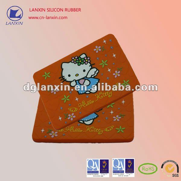 Hello Kitty patten silicon case for IPAD