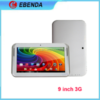 Dual Simcard Slot Android MID MTK6572 9 Inch 3G Tablet PC
