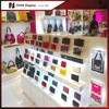 Handbags purse wallet display rack design for shopping mall