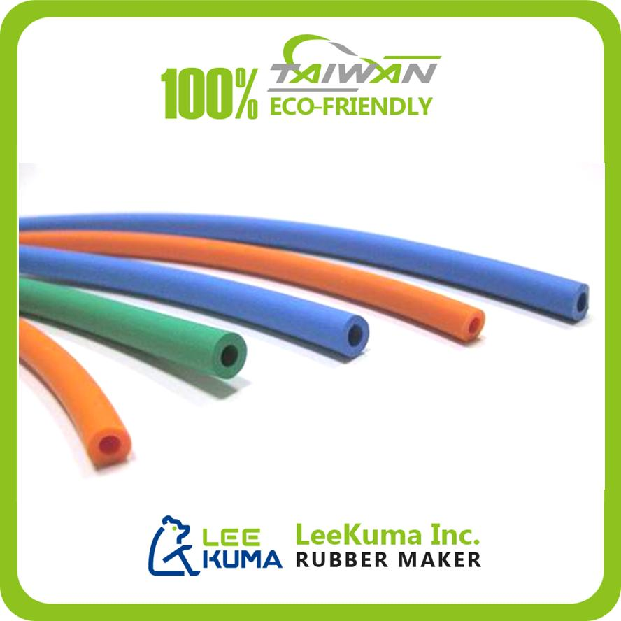 Customized Colorful Flexible Thin Inflatable Silicone Rubber Tube
