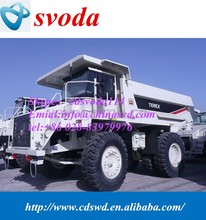 China supply terex mining dump trucks TR50 for sale