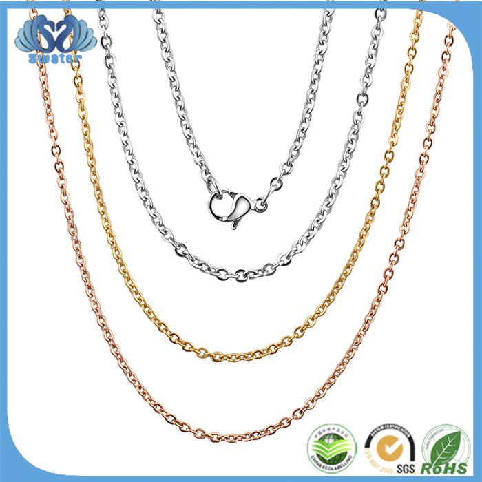 Alibaba Wholesale Stainless Steel Mens Platinum Chain