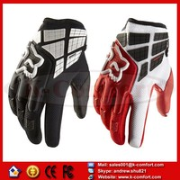 KCM35 Retro Pursuit Perforated Real Leather Motorcycle Gloves Moto Waterproof Gloves Motorcycle Protective Gears Motocross Glove