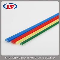 colored plastic tube