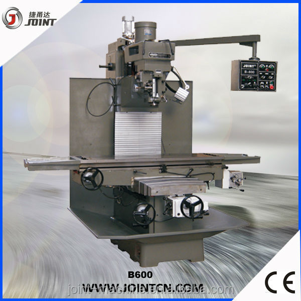 High precision bed type boring and milling machine B600
