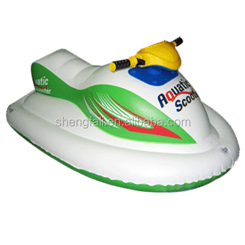china supplier inflatable jet ski ride-on float toy