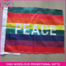wholesale high quality 3x5ft printing peace flag,custom polyester outdoor flying peace flag