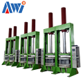 BOM Hydraulic Bladder Motorcycle Tire Making Vulcanizing Curing Press Machine ---AWi