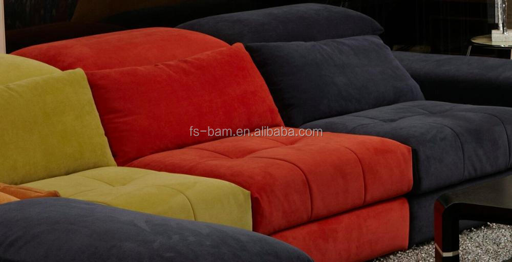 New Modern Design L Shape Fabric Sofa High Grade