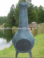 Dragonfly Cast Iron Outdoor Chiminea